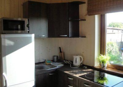 Apartamenty nad morzem - kuchnia