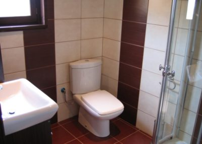 Domki letniskowe - łazienka